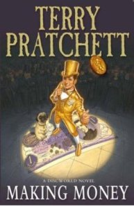 cover of making money by terry pratchett