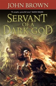 cover of servant of a dark god by john brown